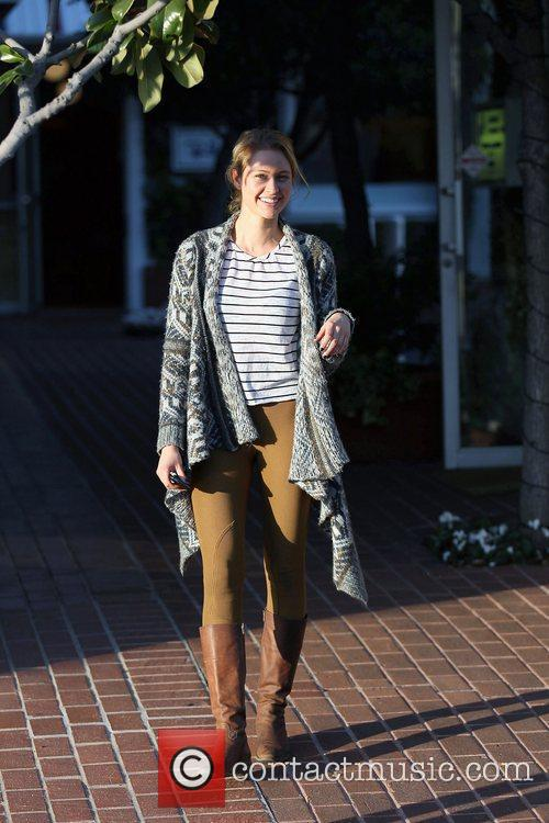 Bachelor 2012 contestant, Casey Shteamer shops at Fred...