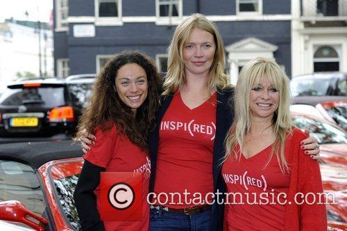 Jodie Kidd, Jo Wood, Lilly Becker The Cash...