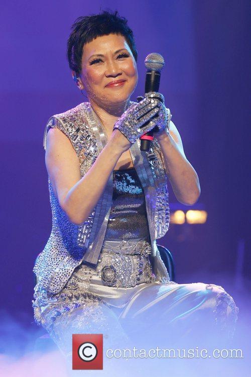 Elisa Chan performs at Casino Rama. Ontario, Canada