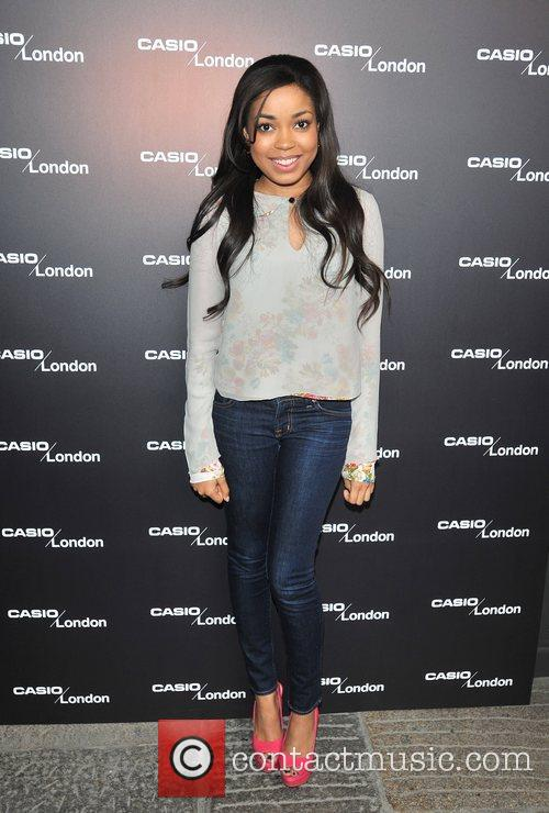 Dionne Bromfield Casio - pop-up store launch party...