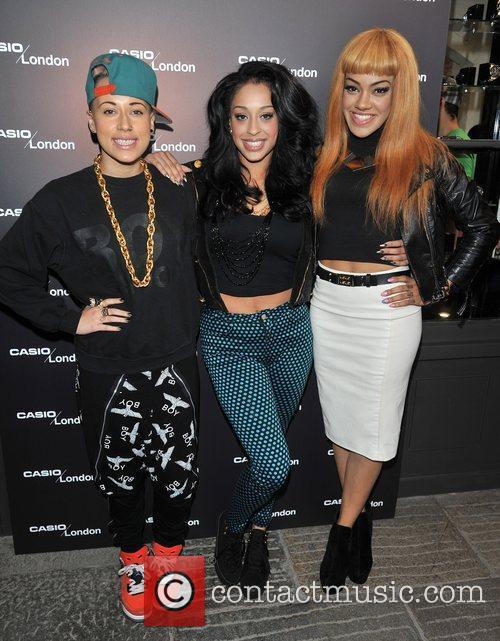 Stooshe Casio - pop-up store launch party at...