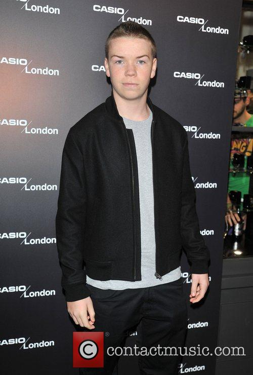 Will Poulter Casio - pop-up store launch party...