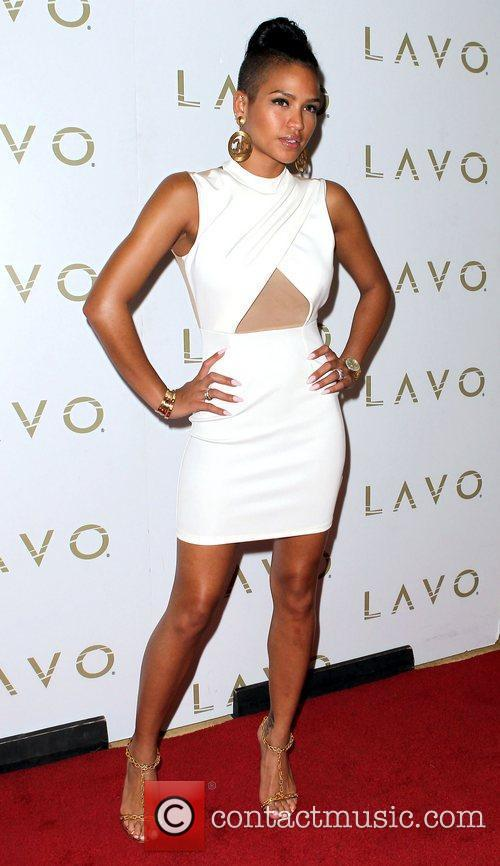 Cassie hosts King of Hearts party at LAVO...