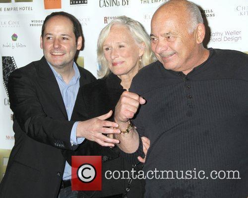 Tom Donahue, Glenn Close and Burt Young 1