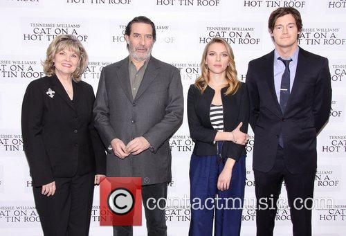 Debra Monk, Ciaran Hinds, Scarlett Johansson and Benjamin Walker 3