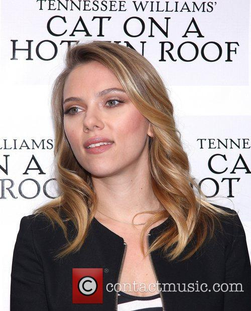 Scarlett Johansson, Cat On A Hot Tin Roof Photocall