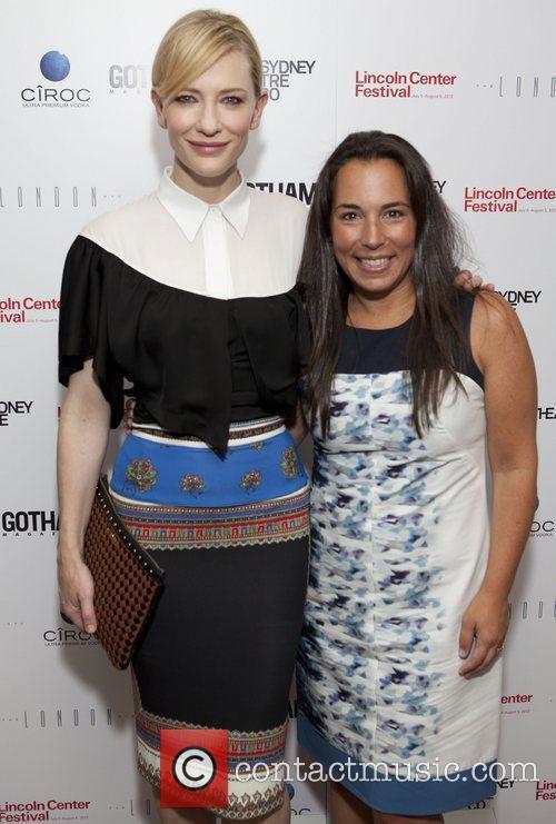 Cate Blanchette & Samantha Yanks Gotham Magazine celebrates...