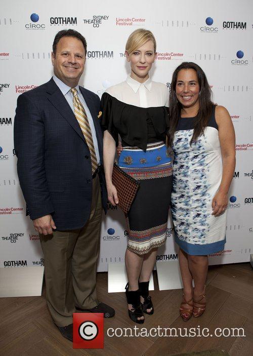 David Katz & Cate Blanchette & Samantha Yanks...