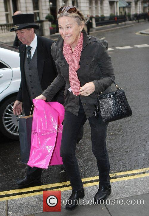 Catherine O'Hara out and about in London London,...