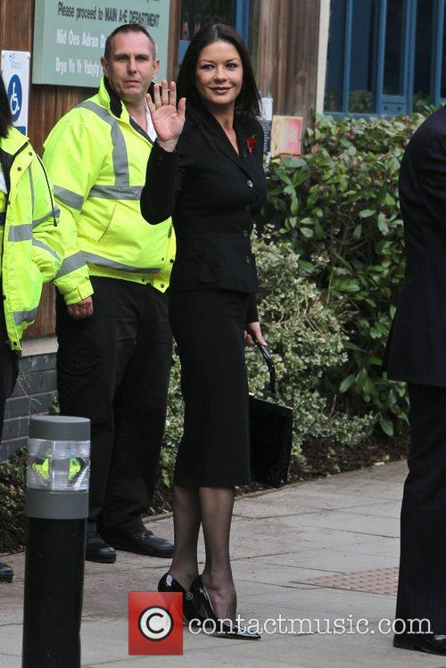 Catherine Zeta-jones, Children's Hospital, Wales and Noah's Ark 10