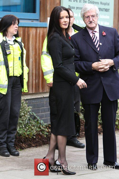 Catherine Zeta-jones, Children's Hospital, Wales and Noah's Ark 8