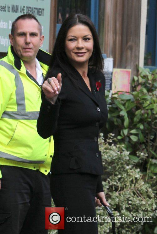 Catherine Zeta-jones, Children's Hospital, Wales and Noah's Ark 9