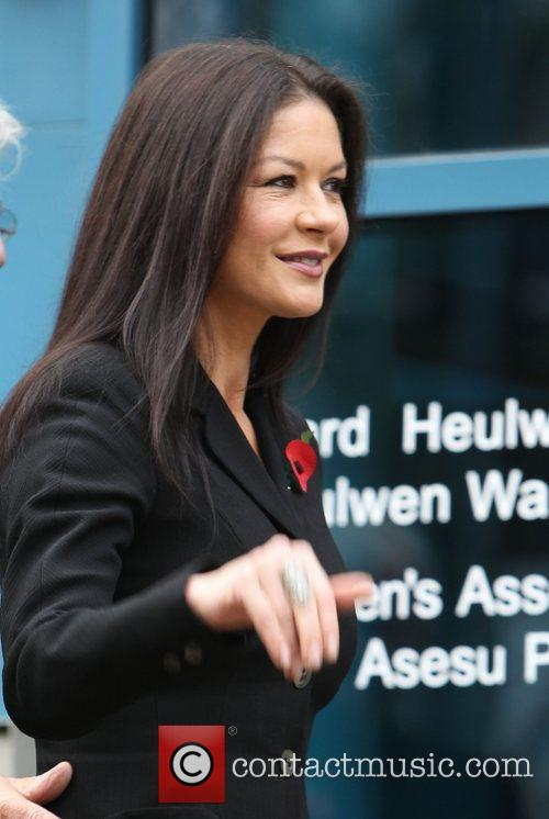Catherine Zeta-jones, Children's Hospital, Wales and Noah's Ark 4