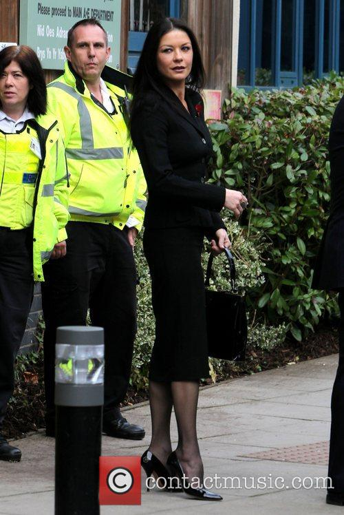 Catherine Zeta-jones, Children's Hospital, Wales and Noah's Ark 5