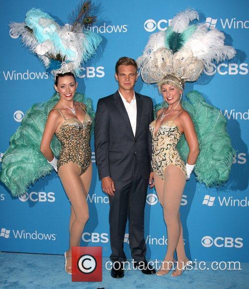 Taylor Handley,  at the CBS 2012 Fall...