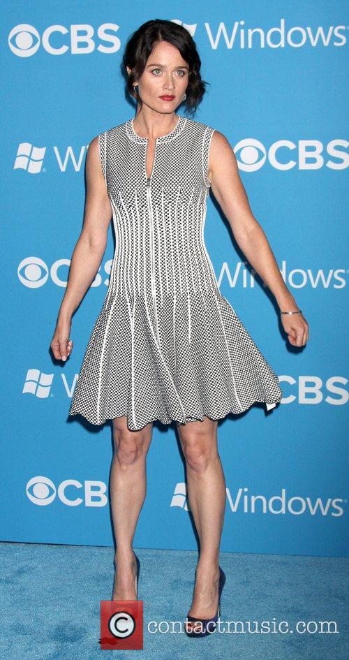 Robin Tunney,  at the CBS 2012 Fall...