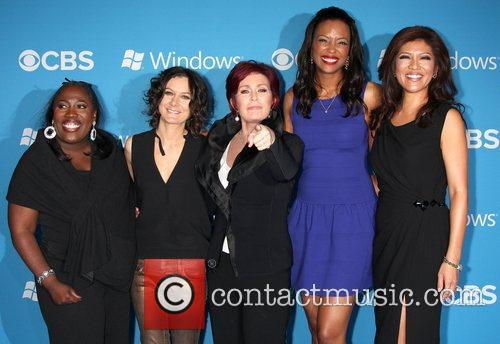 The Talk Cast, Sheryl Underwood, Sara Gilbert, Sharon Osbourne, Aisha Tyler and Julie Chen 1
