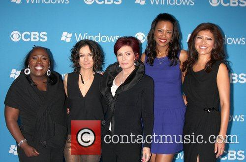 The Talk Cast, Sheryl Underwood, Sara Gilbert, Sharon Osbourne, Aisha Tyler and Julie Chen 2
