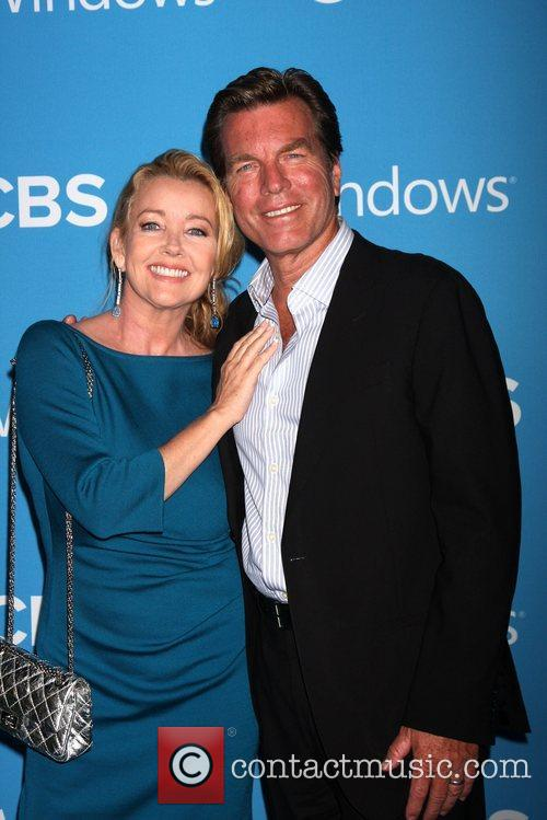 Melody Thomas Scott, Peter Bergman CBS 2012 Fall...