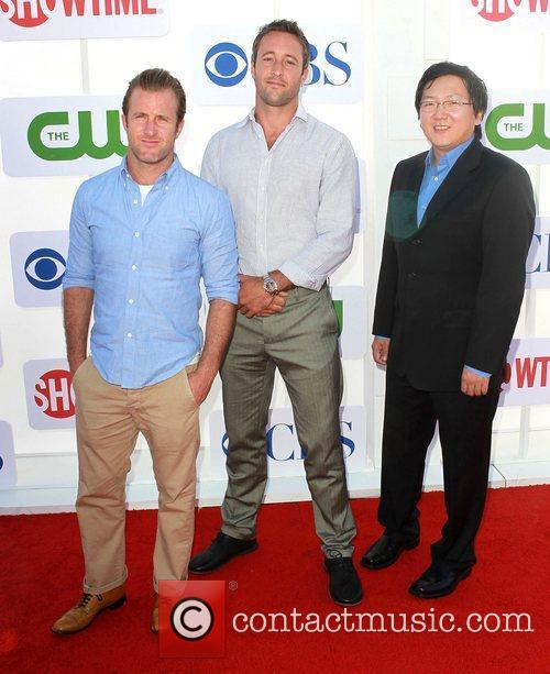 Alex O'loughlin, Masi Oka and Scott Caan