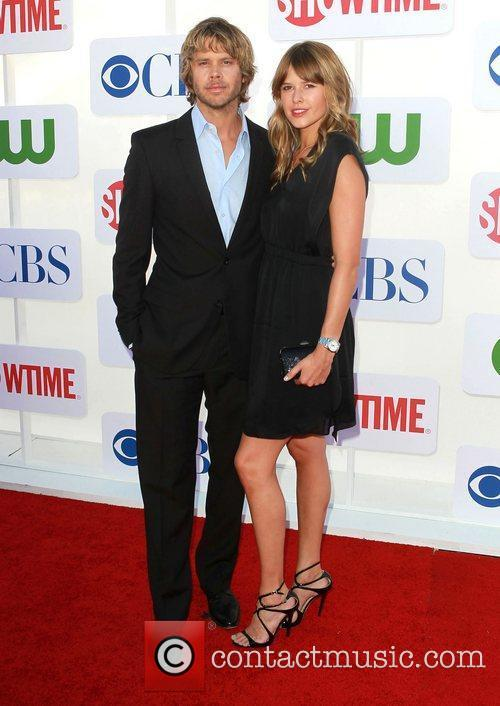 Eric Christian Olsen and Sarah Wright CBS Showtime's...