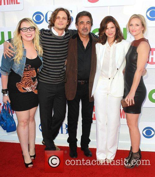 Kirsten Vangsness, A.j. Cook, Jeanne Tripplehorn, Joe Mantegna, Matthew Gray Gubler and Beverly Hilton Hotel 2