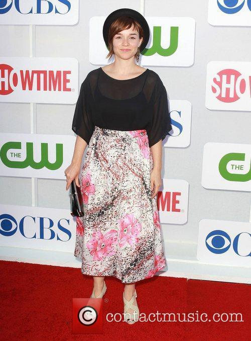 Renee Felice Smith CBS Showtime's CW Summer 2012...