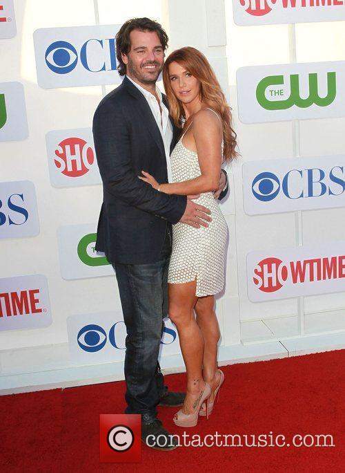 Shawn Sanford and Poppy Montgomery CBS Showtime's CW...