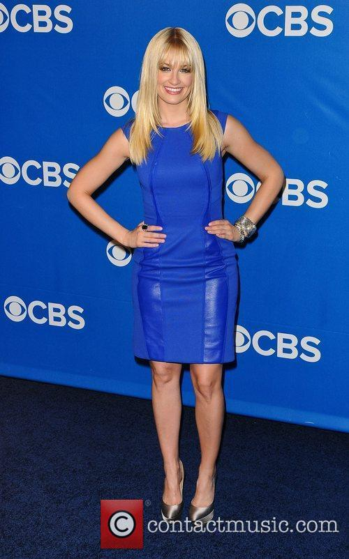 Beth Behrs 2012 CBS Upfronts at The Tent...