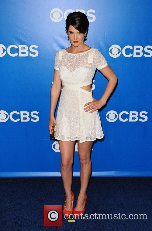 Cobie Smulders 2012 CBS Upfronts at The Tent...