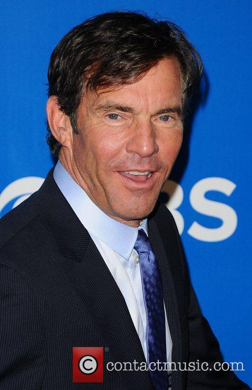 Dennis Quaid 2012 CBS Upfronts at The Tent...
