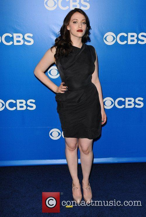 Kat Dennings 2012 CBS Upfronts at The Tent...
