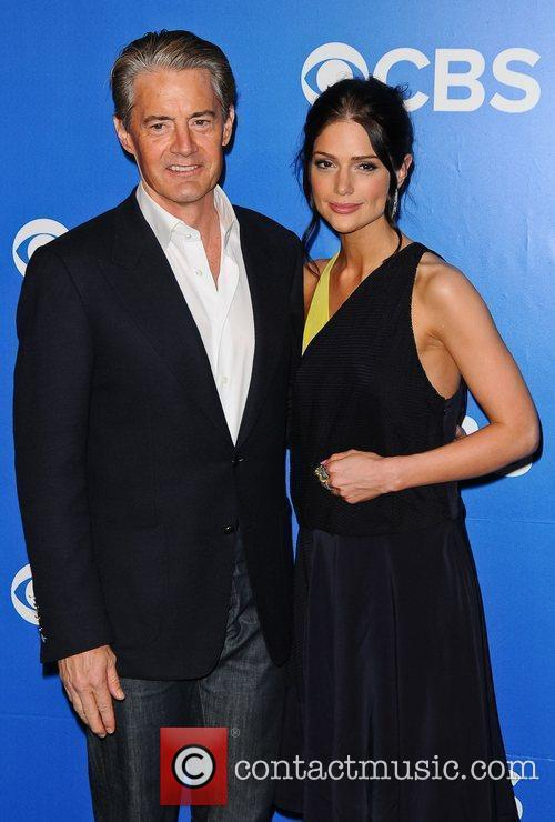 Kyle Maclaughlin, Janet Montgomery 2012 CBS Upfronts at...
