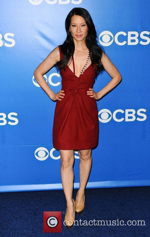 Lucy Liu 2012 CBS Upfronts at The Tent...