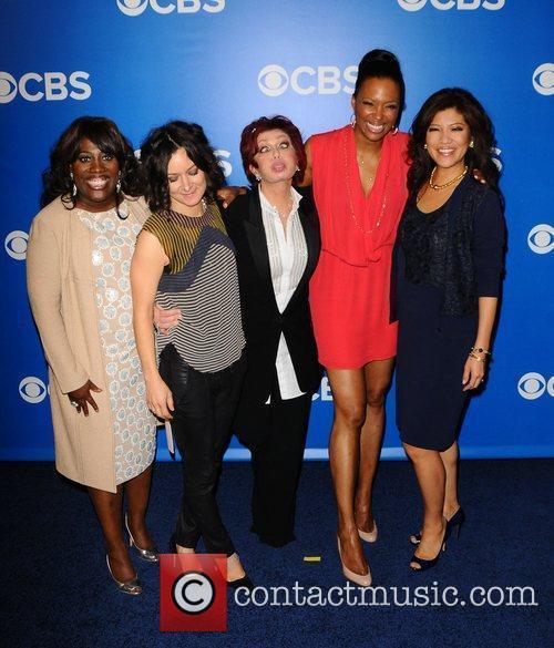 Sara Gilbert, Aisha Tyler, Julie Chen and Sharon Osbourne 2