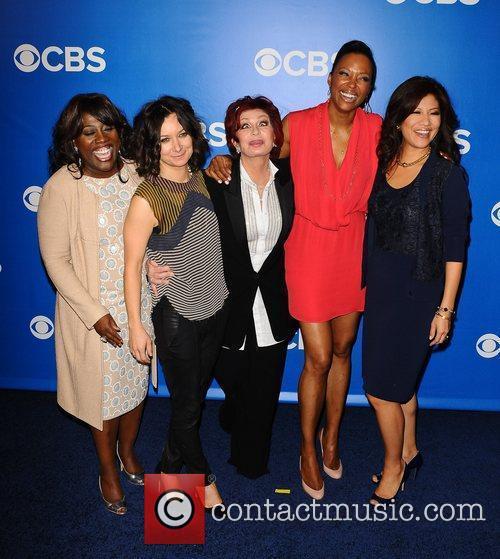 Sara Gilbert, Aisha Tyler, Julie Chen and Sharon Osbourne 1