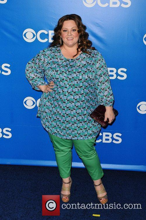 Melissa McCarthy 2012 CBS Upfronts at The Tent...
