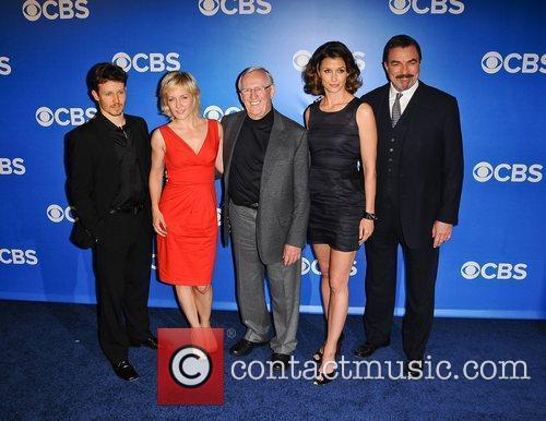 Will Estes, Bridget Moynahan, Len Cariou and Tom Selleck 2
