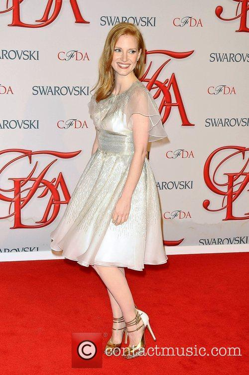 Jessica Chastain and Cfda Fashion Awards 2