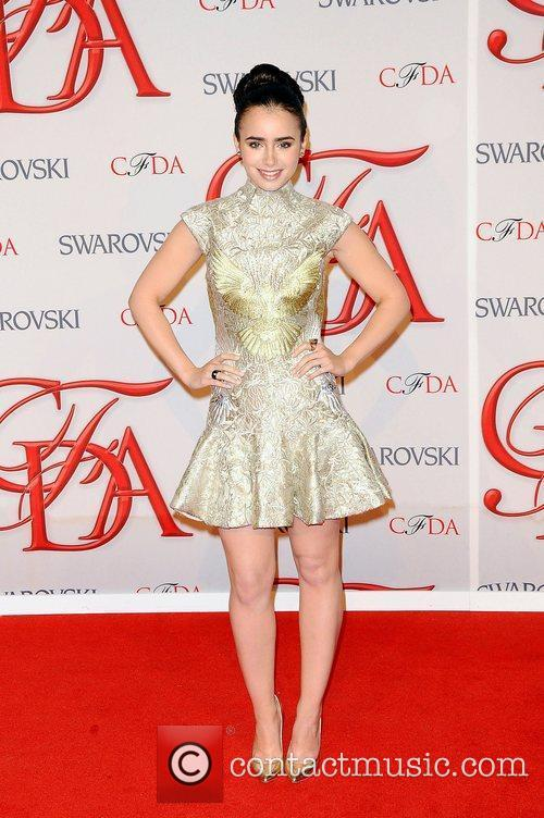 Lily Collins and Cfda Fashion Awards 2