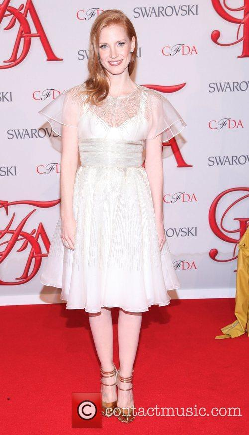 Jessica Chastain and Cfda Fashion Awards 5