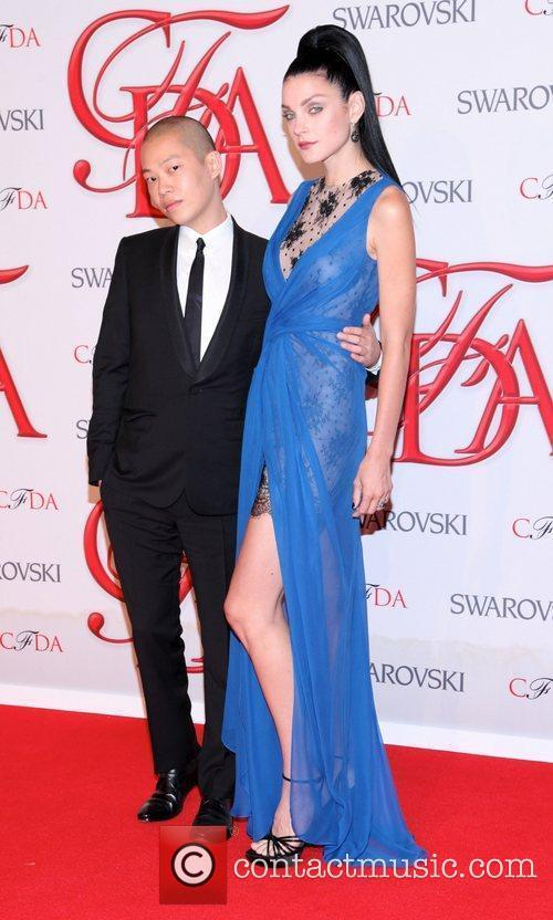 Jessica Stam and Cfda Fashion Awards 4