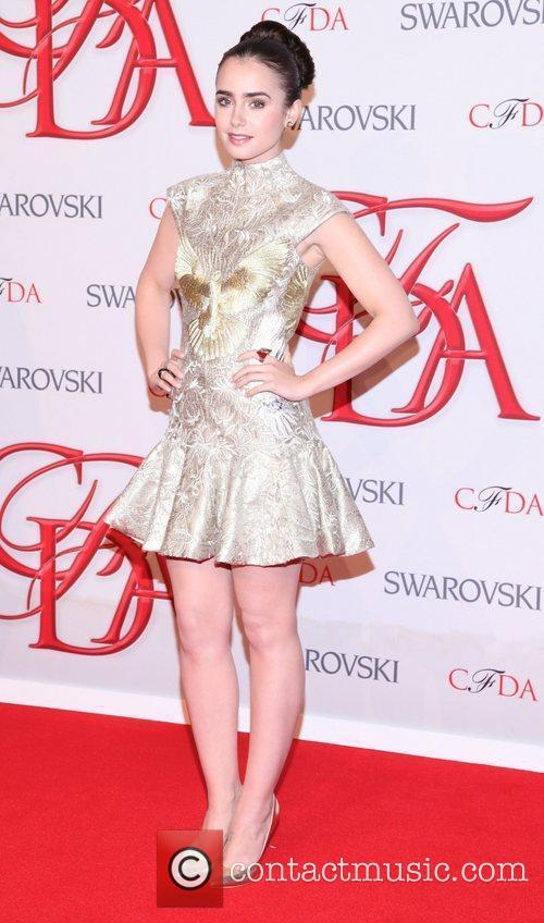 Lily Collins and Cfda Fashion Awards 3