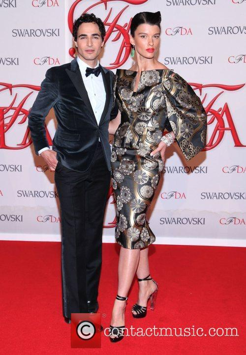 Zac Posen and Cfda Fashion Awards 1