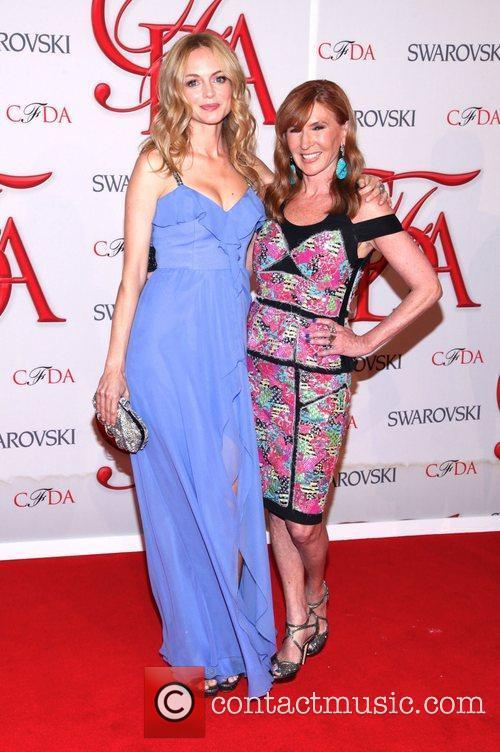 Heather Graham, Nicole Miller and Cfda Fashion Awards 2