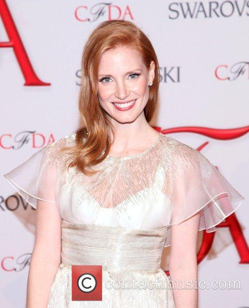 Jessica Chastain and Cfda Fashion Awards 6
