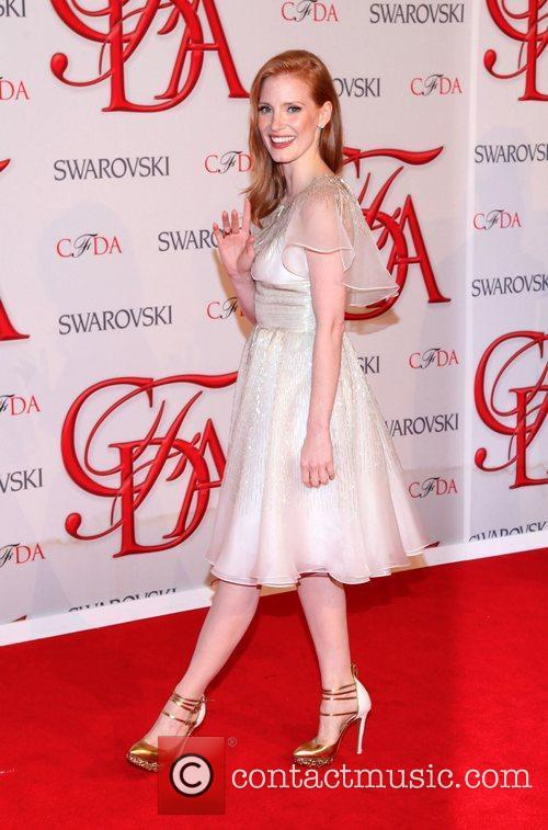 Jessica Chastain and Cfda Fashion Awards 7