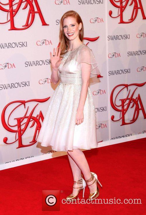 Jessica Chastain and Cfda Fashion Awards 8