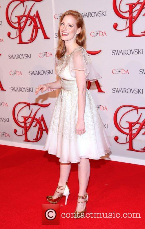 Jessica Chastain and Cfda Fashion Awards 9