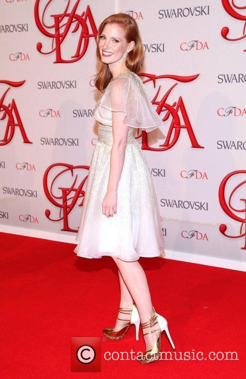 Jessica Chastain and Cfda Fashion Awards 10